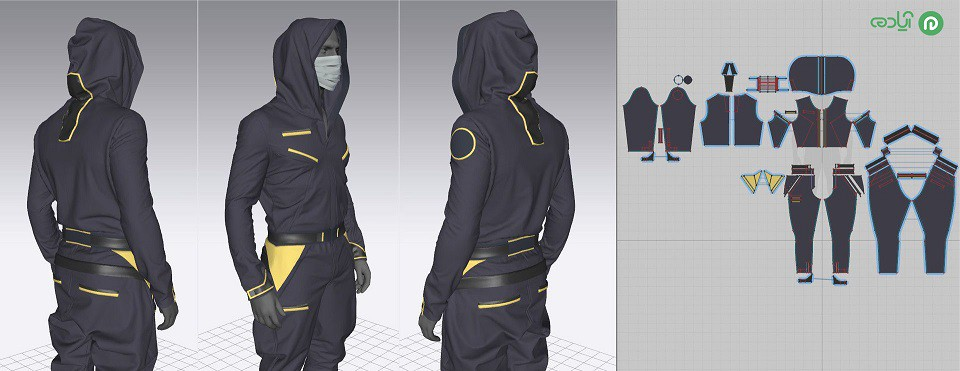 طراحی لباس در مارولوس دیزاینر