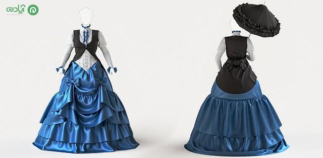 طراحی لباس پارچه مارولوس دیزاینر